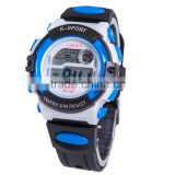 plastic watch fashion multifuncitonal children water resistant digital sport watch with back light