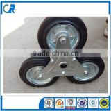 Heavy stair climbing trolley wheel