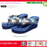 soft sole rubber sole sheet platform flip flop