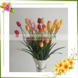 decorative tulip artificial flower table/door centerpiece