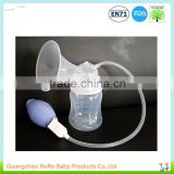 New manual breast feeding pump with air valve control and wide neck baby bottle                                                                         Quality Choice