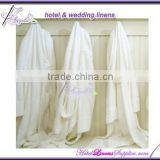 cheap wholesale white terry robe, terry bath robes Kimono collar style for hotels, motels, spas, clubs