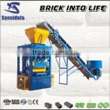 concrete block interlocking paver mold/cement paving stone mould/hydraform machine for sale for small construction