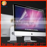 LCD display glass screen protector (all models we can manufacture) for Imac 20'' 21'' 22'' 24'' 27'' screen protective film
