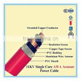 electrical armoured cable 5 core power cable 35mm 50mm 70mm 95mm 120mm 240mm power cable