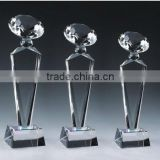 Different sizes acrylic trophy crystal trophy custom trophy cup