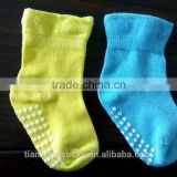 cheap colorful cute Baby non-skid trampoline socks
