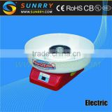 Electric plastic cotton candy machine 360mm cotton candy vending and packaging machine (SUNRRY SY-CCM350)