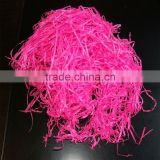 different colors tissue paper shredded paper