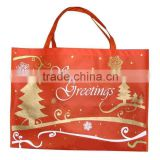 Non-woven bag /Christmas tote shopping bag /non-woven shopping bag / Promotional shopping bag