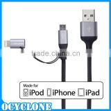 MFI Certified Factory wholesale USB data cable for iPhone 5 6 USB data charging cable