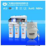 CE 5/6/7 stage led UV reverse osmosis water filter purifier system/ro water filters taiwan