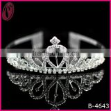 Sparkling Full Round Pageant Crown Hair Band For Carnival