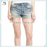 2016 China Wholesale European Fashion Denim Shorts Crafted From Supersoft Cotton Fabric Custom Denim Shorts