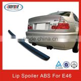 FOR BMW E46 Trunk Lip Spoiler 4D AC-STYLE TRUNK LIP SPOILER