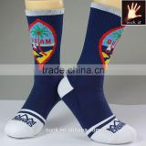 high quality custom professional tennis socks with custom logo label