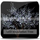 new 2014 artificial cherry blossom garden decoration plastic trees faked trees led landscape tree lamp cheap flower