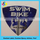 Warranty bathroom epoxy crystal sticker/ custom vinyl stickers/3d wall stickers wall tile stickers