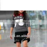 Kids shirt high fashion hot sell 2012-2013 new design100%cotton cute brand printed children's clothing