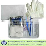 2015 new product disposable hygiene wound Suture Kit with OEM available INDIVIDUAL PACKAGE