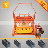 QMR4-45D diesel powered egg laying mobile cover block making machine