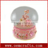 Custom resin handmade ballet Decorative snow globe