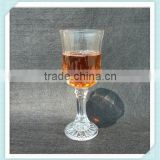 Fine white material whiskey glass crystal lead free whiskey glass cup goblet whiskey cup for sale