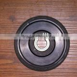 Skid steer tire wheel&sprocket for small rubber track