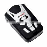 2 in 1 car radar detector English/Spanish/Russian/Arabic voice alert cobra driving system anti police laser gun signal
