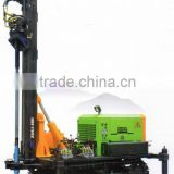 Tractor trailer truck mounted water well drilling rig mobile and portable shallow water oil drilling rig for sale