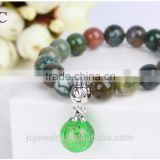 Lady Ball Stretch Stone Bead Perfume Aromatherapy Essential Oil Bracelet