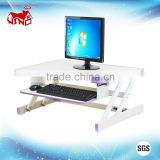 Height adjustable portable folding monitor stand laptop computer mobile stand