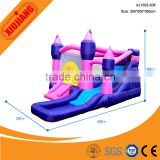 Pretty Princess Playground Inflatable Bouncy Castle for Home Baby