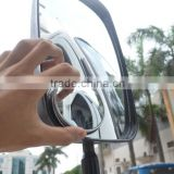 Adjustable truck blind spot mirror