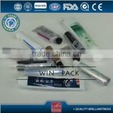 aluminum cosmetic tubes, toothpaste tubes,empty toothpaste tube