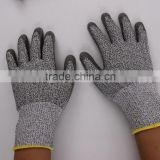 cut and chemical resistant gloves
