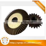 Customized CNC machining high precision carburized iron beveled gear