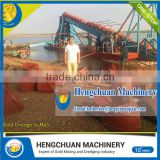 Best selling gold dust separation machine/small gold dredger in africa OEM