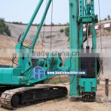 HF-YD7 functional full hydraulic piling driver with hammer for sale ISO & CE certification engineer oversea service ok