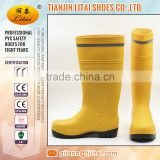 Reflective stip safety Boots,pvc shoes for oil field,fire control area,colliery industry