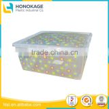 Factory Custom Made Practical Plastic Clear Storage Shoe Box, Recycled Shoe Storage Boxes With Lid