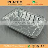 China made aluminum disposable BBQ tray,BBQ serving tray.