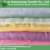 organic dyed bamboo muslin fabric for baby blanket
