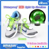 Wholesale Colored Glow Led Christmas Shoelace - China Magic Funky Shoelace With Buckle - Light up LED Shoelace ( CE , ROHS )