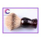 100% Silvertip Badger Bristle Shaving Brush turtle shell color handle density badger hair knots