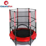 CreateFun 55 inch indoor kids trampoline with safety net