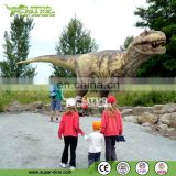 china Dinosaur park 3d movies life-size animatronic dinosaur, simulation decorative attractive