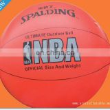 Basketball Design Helium Balloon for Advertising