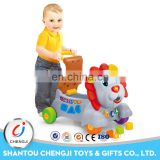 Alibaba trade unique ride on lion activity round cartoon baby walker