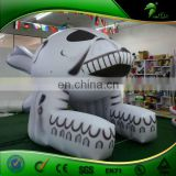 Custom 3 m Inflatable Halloween Skull/ Inflatable Halloween Decoration Skull for Sale